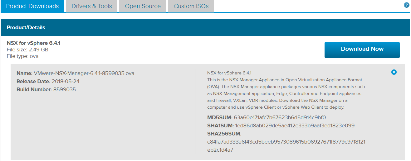 Step-By-Step: Install and Configure NSX Manager 6 4 1