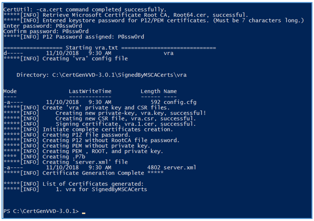 Step-by-Step: Generate vRealize Automation Certificate via
