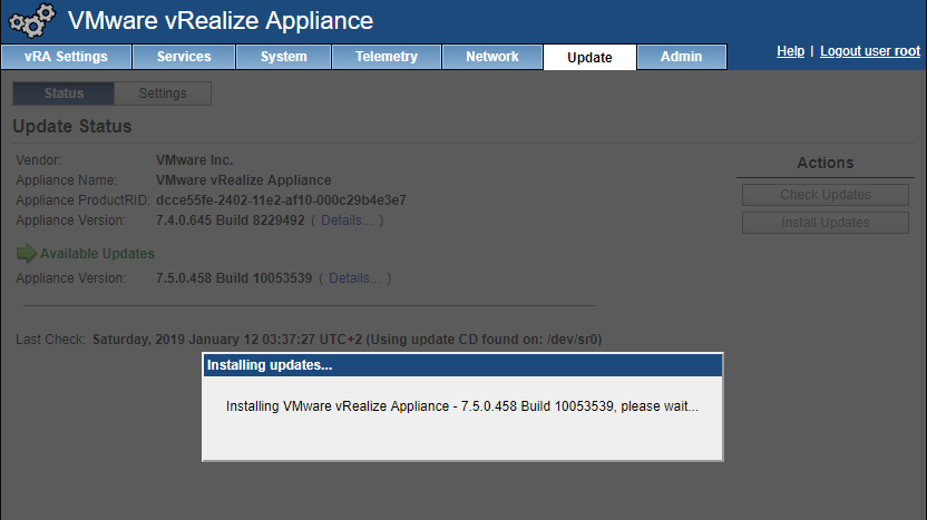 Step-by-Step: VMware vRealize Automation 7 x to 7 5 Upgrade