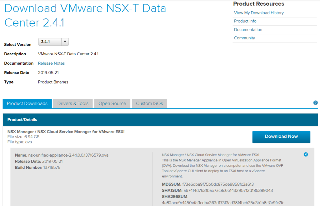 Step-by-Step: Deploy VMware NSX-T 2 4 1 Manager - vExpert